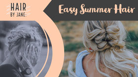 Easy Summer Hair Youtube 배너