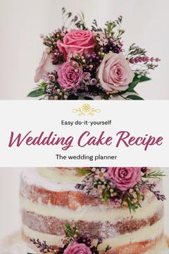 Wedding Cake Recipe Pinterest  Cakes