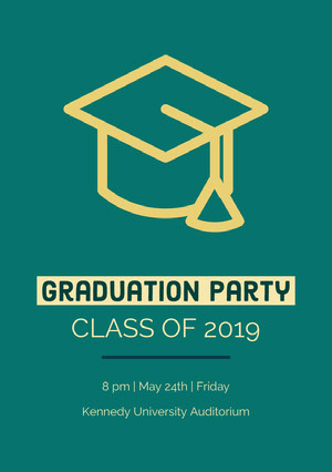 Graduation Party Invitation à une fête