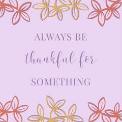 thanksgivings instagram post Social Media Flyer