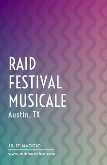 RAID <BR>FESTIVAL MUSICALE  Poster