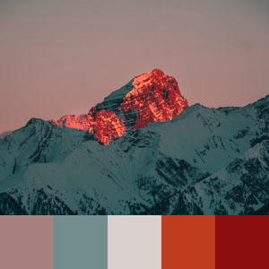 Color Palettes | Earthy 5 101 Brilliant Color Combos