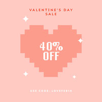 valentine's day sale instagram Photo de produit Amazon