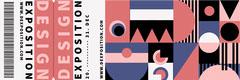design exposition raffle ticket Event Ticket