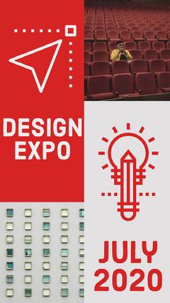 Red Design Expo Instagram Story Instagram Story