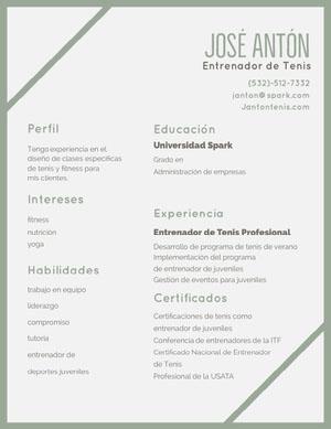 José Antón Currículum vitae