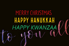 to you all Hannukkah