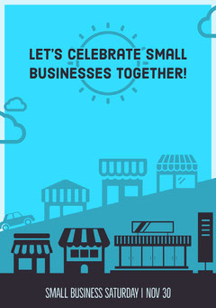 Let's celebrate small businesses together! Seasonal