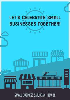 Let's celebrate small businesses together! Celebration