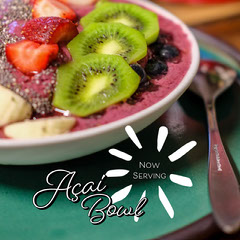 açaí bowl instagram  Fruit