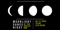 Moonlight Dance Night Eventbrite Banner Event Banner