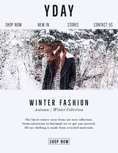 winter collection newsletter New Collection