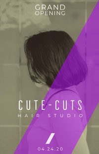 CUTE-CUTS Pósteres