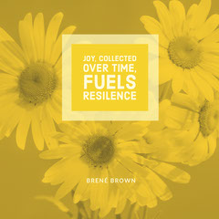 JOY, COLLECTED OVER TIME, FUELS RESILENCE Flowers