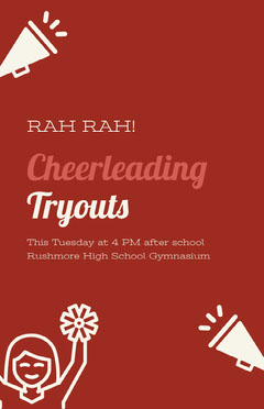 Cheerleading Tryouts After School
