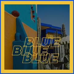 blue instagram Yellow