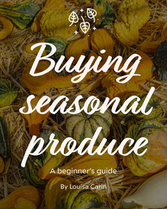 Colourful Photo Seasonal Produce Guide Instagram Portrait  Fall