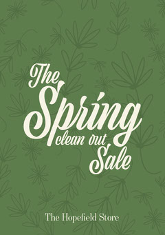 Floral Spring Sale Flyer Spring