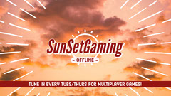 Sunset Gaming Twitch Banner Sunset