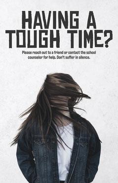 Mental Health School Poster  Health Poster