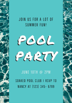 POOL PARTY Club Party