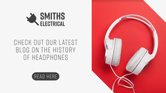 White and Red Electrical Products Company Blog Banner Tech