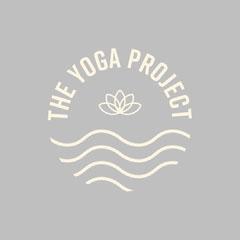 Yellow and Grey Yoga Studio Logo Square  Grey