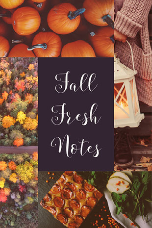 Fall Fresh Notes Moodboard