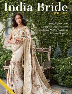 Green and India Bride Magazine Cover Fashion Magazines Cover