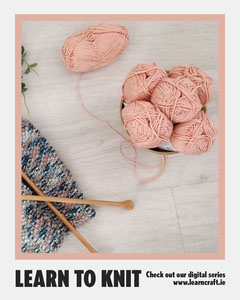Learn to Knit Instagram Portrait Educational Course