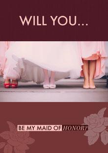 WILL YOU... Convite de casamento