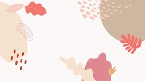 warm tones pink brown leaves zoom background Fond d'écran d'ordinateur