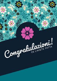 Congratulazioni! Wedding Congratulations