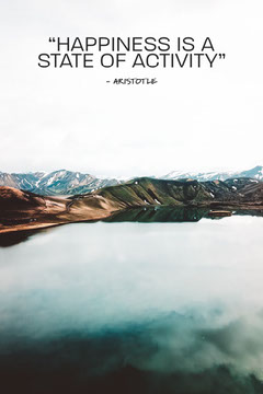 Blue And Brown Mountains Happiness Pinterest Lake