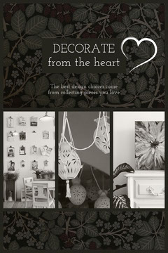DECORATE<BR>from the heart Interior Design