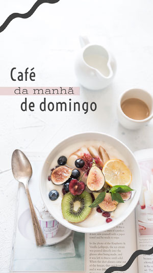 sunday breakfast instagram story Tamanho de imagem do Instagram