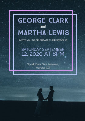 Martha Lewis Save the Date Card