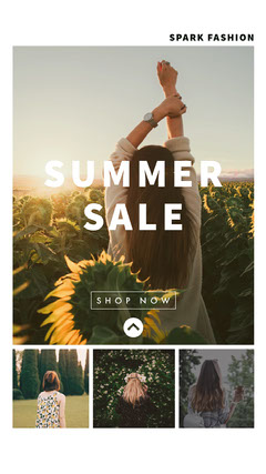 SUMMER<BR>SALE Instagram Story