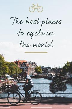 Green Cycling Guide Pinterest Bike