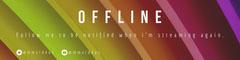 offline twitch banner Rainbow