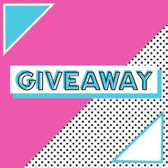 Pink & Dot Pattern Instagram Square Giveaway