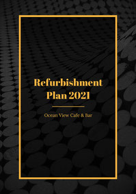 black gold refurbishment plan white paper bar a4 White Paper