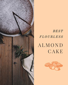 ALMOND CAKE Food