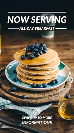 breakfast pancakes igstory Breakfast