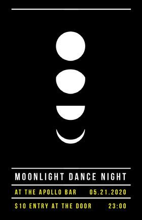 Moonlight Dance Night Event Poster Veranstaltungs-Flyer