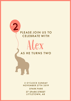 birthday invite for boy  Boys