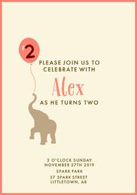 birthday invite for boy  Birthday