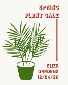 Spring Plant Sale Instagram Portrait  Portrait
