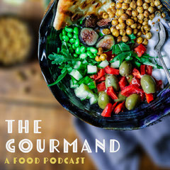 Food Podcast Instagram Square with Salad Photo Podcast