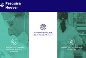 Pesquisa Hoover Página da Web